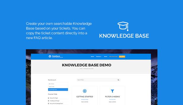 TotalDesk - Helpdesk, chat ao vivo, base de conhecimento e sistema de tíquetes - 5