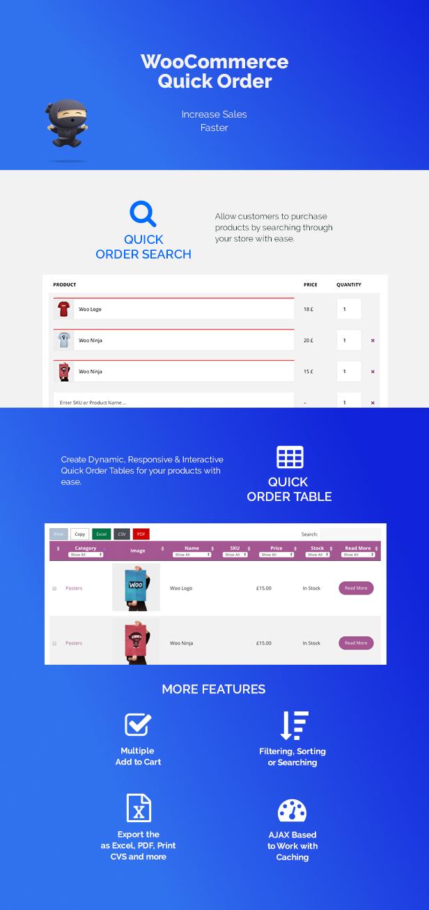 WooCommerce B2B Quick Order - 1